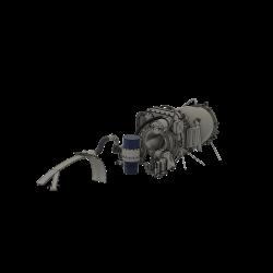 Turbinenverkleidung Alouette Ii von Heli-Factory mit...