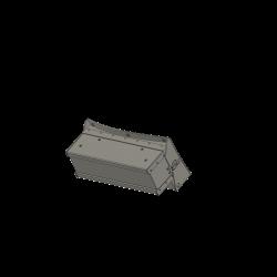 Radar box at Cockpit, Alouette II