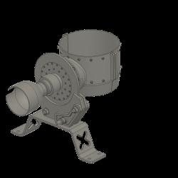 rotor break, Alouette II from Heli-Factory, scale 1/4