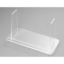 Plexi glass support for quartet card