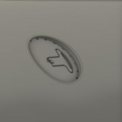 Tankverschluss (Dummy) Aussentank F16