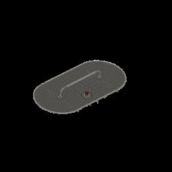 ovale Dachantenne inkl. Sockel für LED Licht, Alouette II