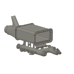 Air-In take heating system, Alouette II
