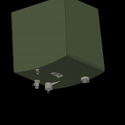 Stutzen unterm Tank, Alouette II
