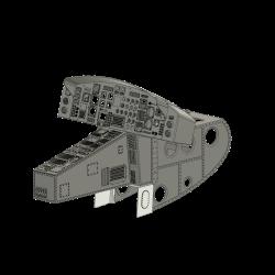 Cockpit including front part