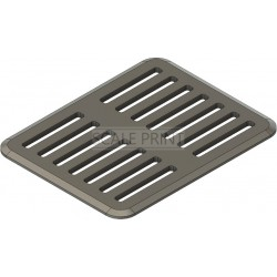 Air grill 23 x 18mm, universal